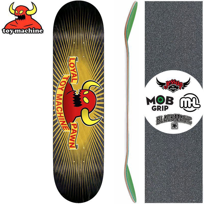 トイマシーン TOY MACHINE デッキ LOYAL MONSTER PP DECK[8.25インチ]NO217