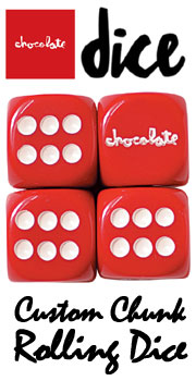 CHOCOLATE DICE