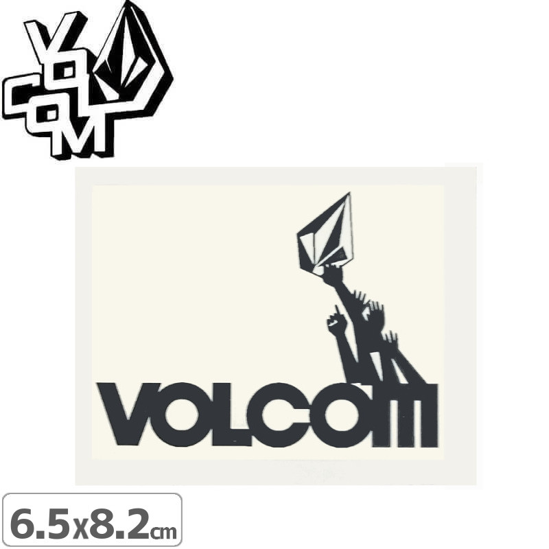 ボルコム VOLCOM ステッカー STICKER 6.5cm x 8.2cm NO353