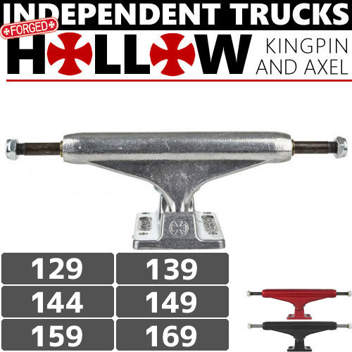 1週間SALE! INDEPENDENT トラック FORGED HOLLOW STAGE11 TRUCKS 3カラー STANDARD NO84