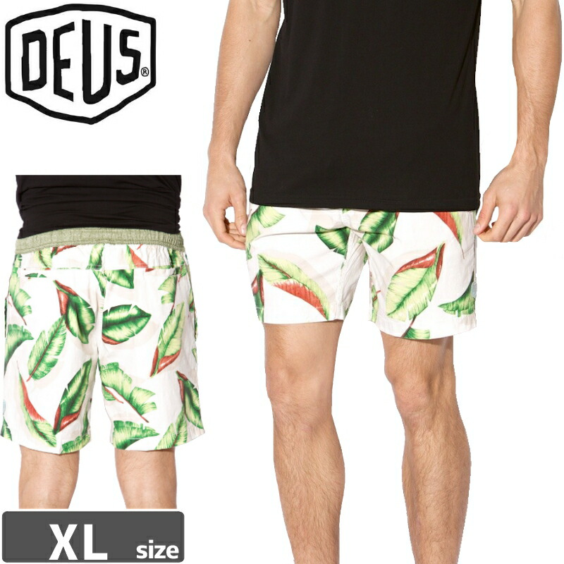 1週間SALE! DEUS EX MACHINA デウス ボードショーツ SANDBAR PALMS SHORTS NO8