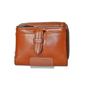 クラプトン・マチ厚折り財布・キャメル(0035102)