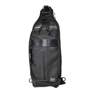 ヒート・縦型ボディーバッグ・ブラック(703-08000)