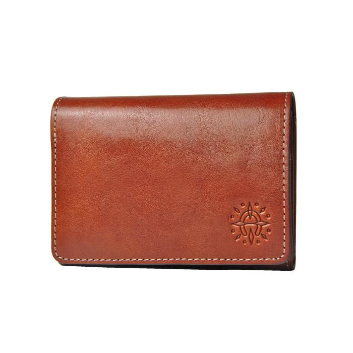 フォンス・折り財布・ブラウン(0035891)