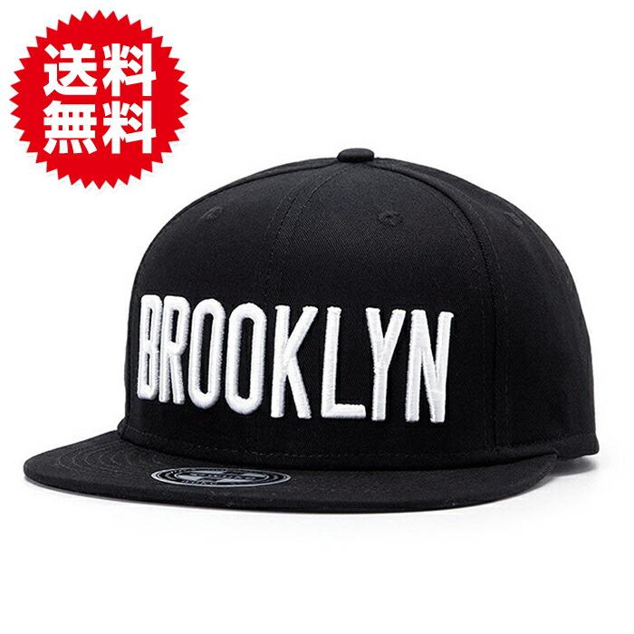 BROOKLYN ロゴ キャップ カジュアル ストリート系