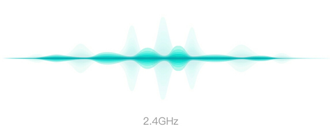 2.4/5.8GHzデュアル周波数帯自動切替