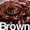 ブラウン・チョコ・茶色