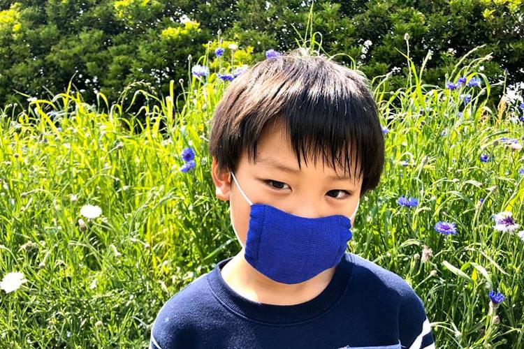 子供用の布マスク