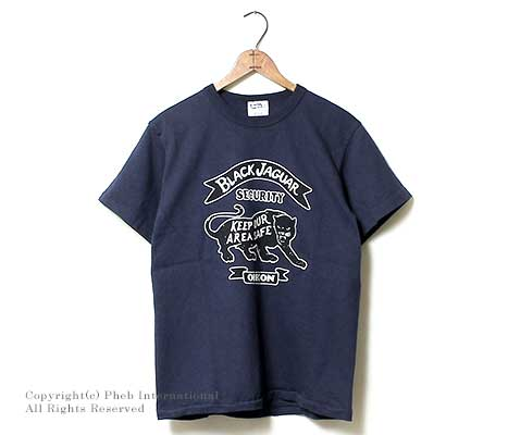 フェローズ/PHERROW'S(PHERROWS) 日本製 ''BLACK JAGUAR''Tシャツ(15S-PTJ10)