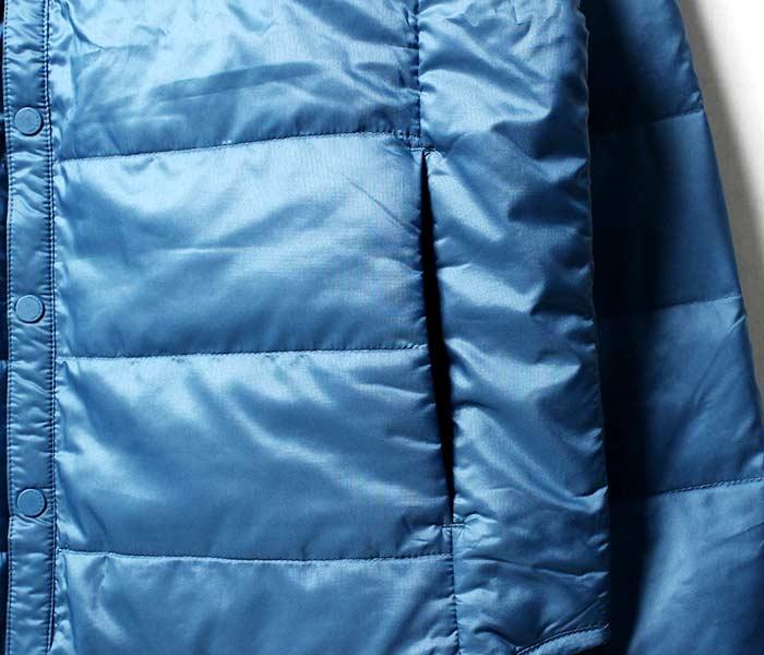 [送料無料]オルテライン/ALLTERRAIN (byデサント/DESCENTE) 2018秋冬新色 ''BLBA HCS DOWN'' インナーダウンジャケット ロングスリーブダウンシャツ (DAMMGC39-BLBA)