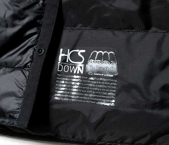 [送料無料]オルテライン/ALLTERRAIN (byデサント/DESCENTE) ''HCS DOWN'' インナーダウンジャケット ロングスリーブダウンシャツ (HCS-DOWN-LS-SH(DAMMGC39U))