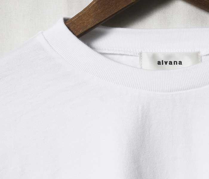 アルヴァナ alvana デイリー オーバーサイズ Tシャツ 2019SS DAIRY OVERSIZE TEE SHIRTS MADE IN JAPAN (ACS-0007)