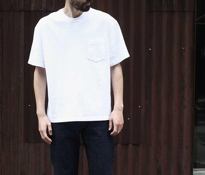 アルヴァナ alvana アルティメイトインレイ ワイド ポケT Tシャツ ヘビーオンス ULTIMATE HARD WIDE PK TEE MADE IN JAPAN (ACS-0025)