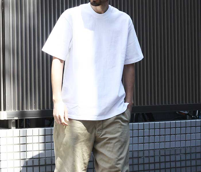 アルヴァナ alvana アルティメイトインレイ ハード Tシャツ ヘビーオンス プレーンT ULTIMATE HARD TEE SHIRTS MADE IN JAPAN (ACS-0027)
