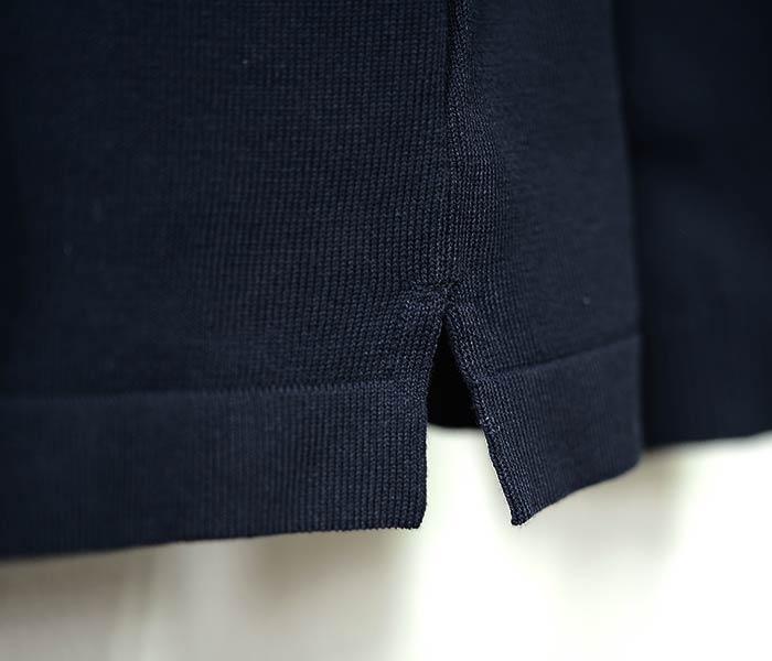 [送料無料]アンデルセン アンデルセン/ANDERSEN-ANDERSEN イタリア製 ロングスリーブ ニットポロシャツ 12GGオーガニックコットン POLO LONG (POLO-LONG-KNIT-ANDERSEN(AA1811002))