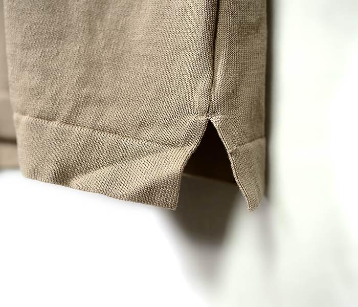 [送料無料]アンデルセン アンデルセン/ANDERSEN-ANDERSEN イタリア製 半袖 ニットポロシャツ 12GGオーガニックコットン POLO SHORT (POLO-SHORT-ANDERSEN(AA1811003))