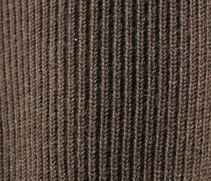[送料無料]アンデルセン アンデルセン/ANDERSEN-ANDERSEN イタリア製 ''NATURAL COLOR WOOL'' クルーネック セーター リブニット (AA72115-NAT-CREW)