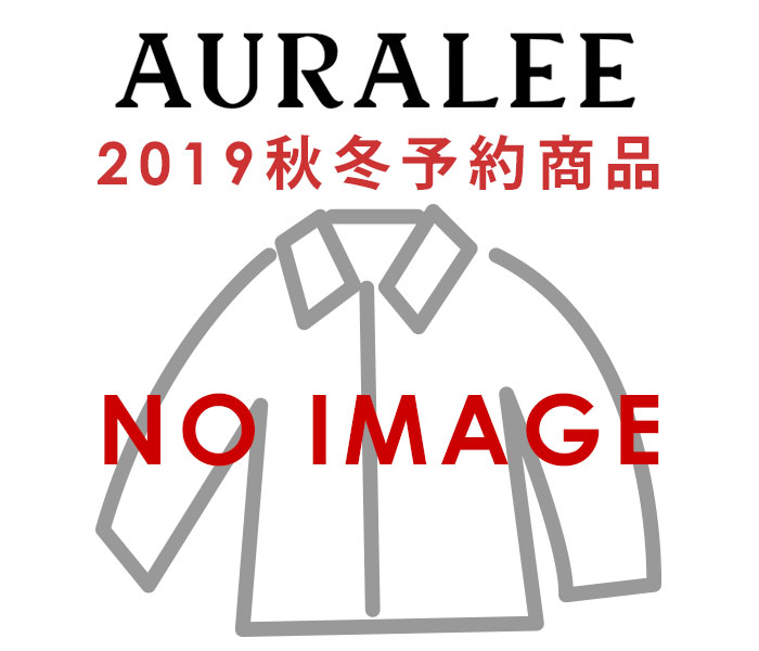オーラリー AURALEE ウールサージチェック ブルゾン 2019AW WOOL SERGE CHECK ZIP-UP BLOUSON MADE IN JAPAN (A9AS02SC)