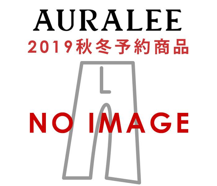 オーラリー AURALEE ウールサージチェック ナロースラックス2019AW WOOL SERGE CHECK NARROW SLACKS MADE IN JAPAN (A9AP03SC)