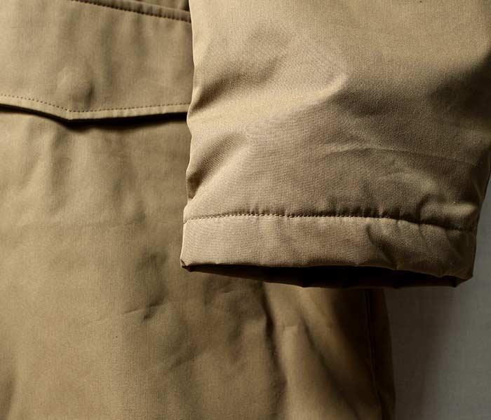 [送料無料]オーラリー/AURALEE 日本製 フィンクスナイロンオックス バッティングフーデッドコート 2018AW FINX NYLON OX BATTING HOODED COAT (A8AC01NO)