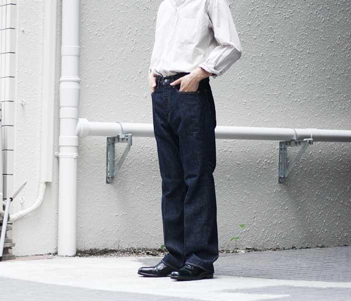 オーラリー AURALEE 日本製 ハードツイスト デニム 5ポケット 2019SS HARD TWIST DENIM 5P PANTS (HARD-TWIST-DENIM-5P(A9SP01DM))