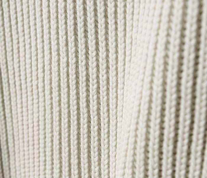 オーラリー AURALEE 日本製 スーパーファインウール ニット クルーネック ビッグ セーター 2018AW SUPER FINE WOOL RIB KNIT BIG P/O (AURALEE-SFWOOLRIB-BIGKNIT (A8AP02RK))