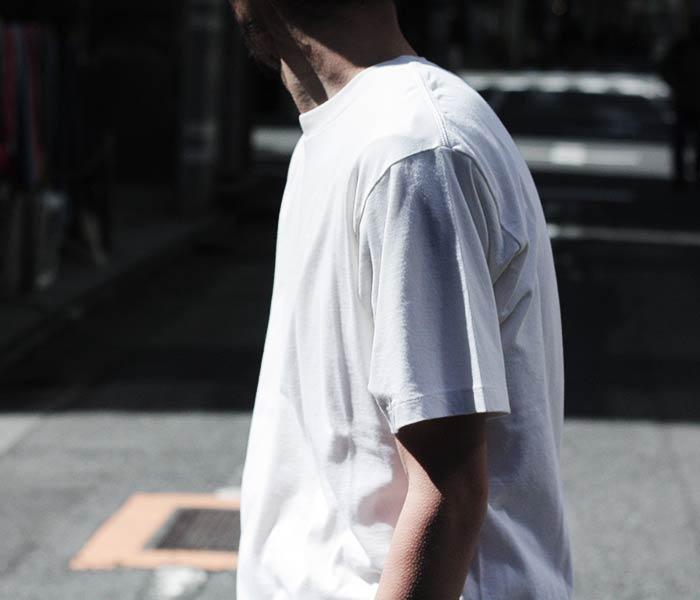 [送料無料]オーラリー/AURALEE 日本製 コットンカシミヤ Tシャツ TWIST COTTON CASHMERE TEE (A8ST02CC-TEE)