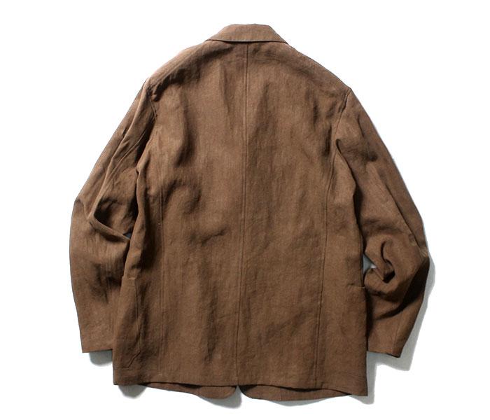 オーラリー AURALEE 日本製 ジャケット ウォッシュドリネン 2019SS WASHED LINEN JACKET (A9SJ01LP)