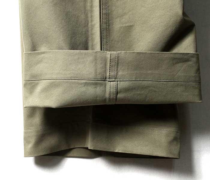 オーラリー AURALEE 日本製 春夏モデル チノパン ウォッシュド フィンクスライトチノ ワイドパンツ 2019SS WASHED FINX LIGHT CHINO WIDE PANTS (WASHED-FINX-CHINO-WIDE-SS(A9SP01CN))