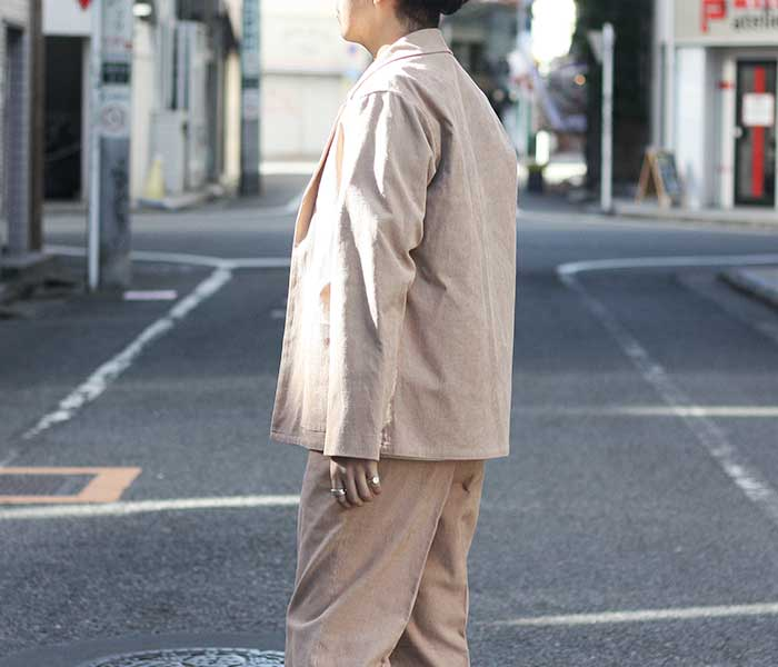 オーラリー AURALEE 日本製 ヘンプ コーデュロイ シャツジャケット 2019SS HEMP CORDUROY SHIRTS JACKET (A9SS01HC)
