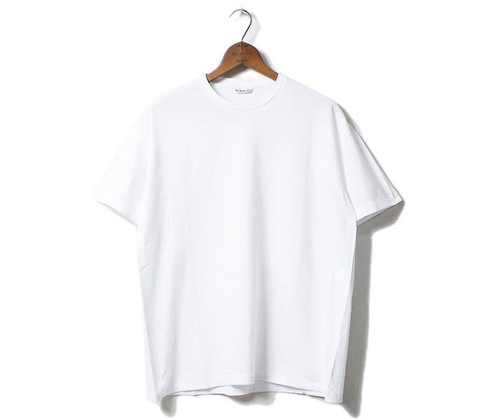オーラリー AURALEE 日本製 クルーネック Tシャツ シームレス SEAMLESS CREW NECK TEE (A00T01ST-TEE)