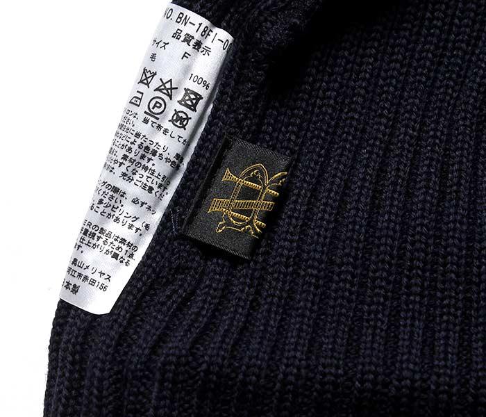 バトナー BATONER 日本製 ロウキャップ ニットキャップ ビーニー キャップ 帽子 LOW CAP KNIT 2018AW (BN-18FI-006)