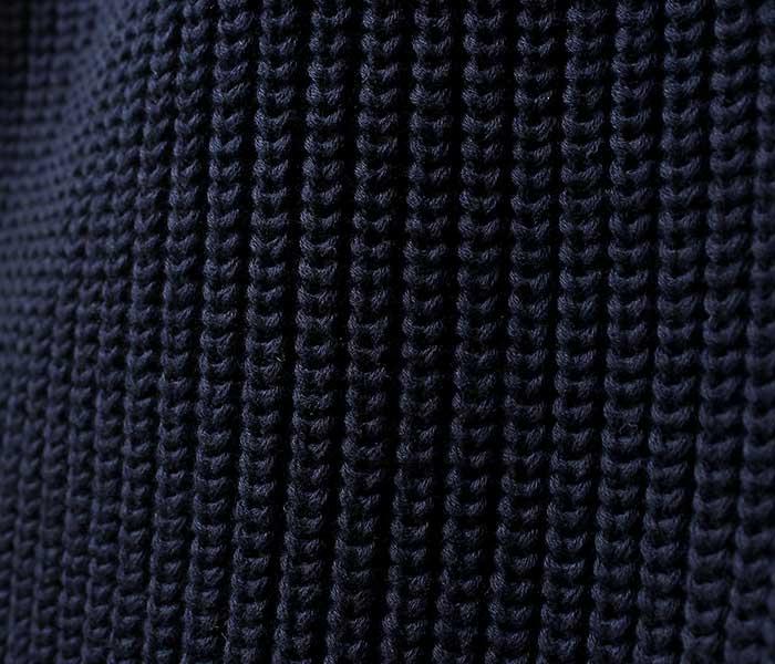 バトナー BATONER 日本製 アイコン セーター ニット クルーネック オーガニックコットン 2019SS ORGANIC COTTON ICON CREWNECK (COTTON-ICON-CREW(BN-19SM-002))