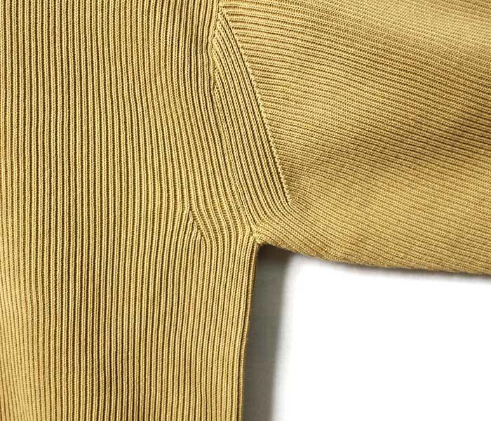 バトナー BATONER 日本製 フォームアップ セーター ニット クルーネック コットン 2019SS FORM-UP CREW NECK KNIT SWEATER (FORM-UP-CREW-COTTON(BN-19SM-008))