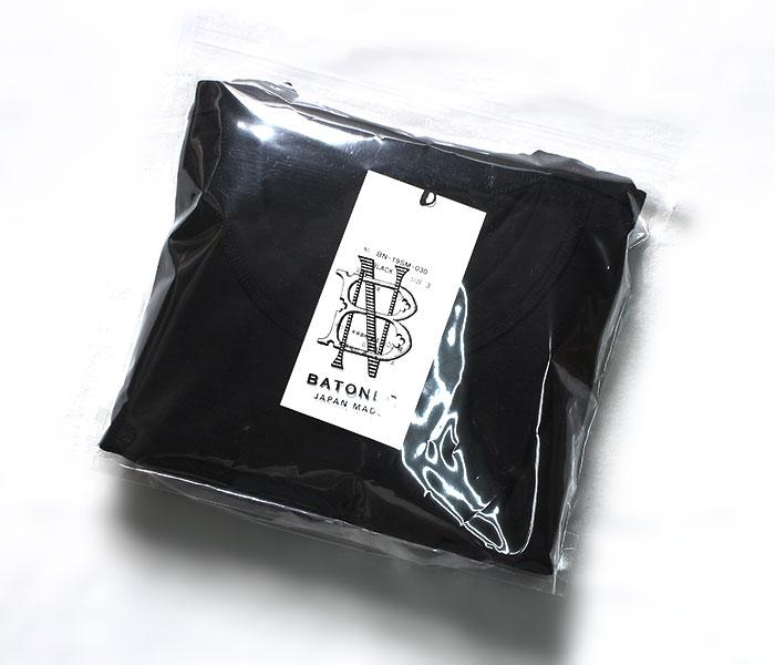 バトナー BATONER パックT プレーン Tシャツ スムース バインダーネック PACK-T (BN-PACKT-MOTHER(BN-19SM-030))