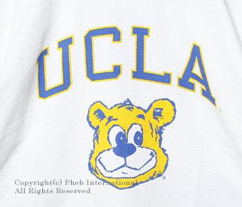 チャンピオン/CHAMPION 「T1011シリーズ」アメリカ製''UCLA''ヘビーウェイトTシャツ【C5-B306-UCLA】