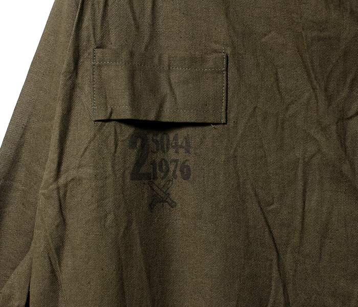 デッドストック/DEADSTOCK チェコ軍 1970年代 オールインワン ワークカバーオール つなぎ (CZECH-70S-ALL-IN-ONE)