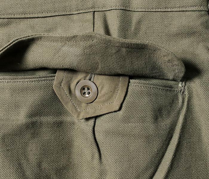 [送料無料]デッドストック/DEADSTOCK フランス製 1950年代 ''前期'' M47 M-47 カーゴパンツ フィールドパンツ フランス軍 (FRENCH-M47-PANTS-EARLY)