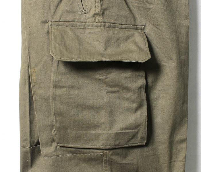 [送料無料]デッドストック/DEADSTOCK フランス製 1960年代 ''後期'' M47 M-47 カーゴパンツ フィールドパンツ フランス軍 (FRENCH-M47-PANTS-LATE)