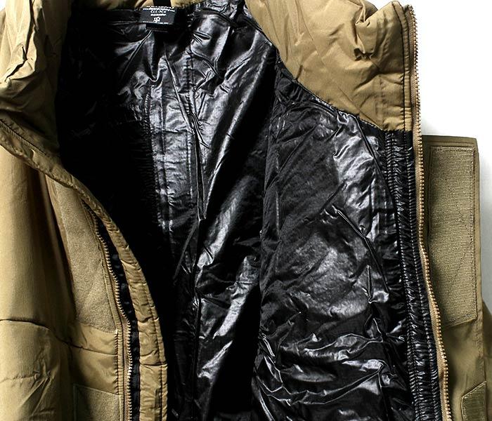 [送料無料]デッドストック/DEADSTOCK ビヨンド/BEYOND CLOTHING社製 アメリカ製 モンスターパーカー/MONSTER PARKA LEVEL7 PCU TYPE-2 MODEL 2XL-R コヨーテ プリマロフトパーカー (MONSTER-PARKA-L7-CYT-2XL-R)