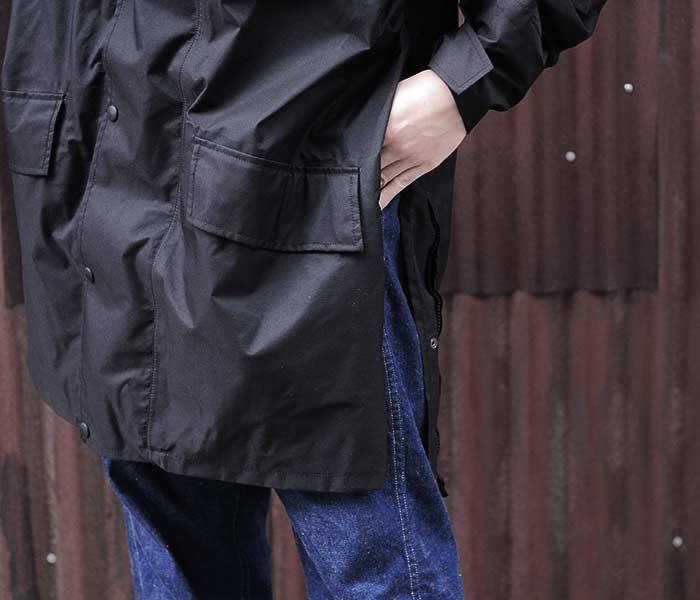[送料無料]デッドストック/DEADSTOCK イギリス軍 MVP 防水コート ナイロンジャケット 190/120サイズ BRITISH MVP JACKET (BRIT-MVP-JKT-BLACK-USED)
