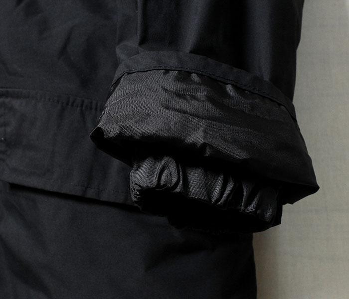 [送料無料]デッドストック/DEADSTOCK annis-wear社製 MVP 防水コート ナイロンジャケット MEDIUM/SHORTサイズ BRITISH MVP JACKET イギリス製 (BRIT-MVP-JKT-BLK-M-SHORT)