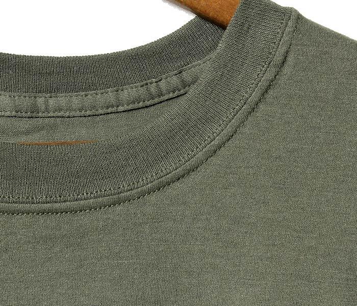 [メール便送料無料]デッドストック/DEADSTOCK 米軍 アメリカ製 ミリタリー オリーブ O.D.グリーン プレーン Tシャツ (US-OD-TEE)
