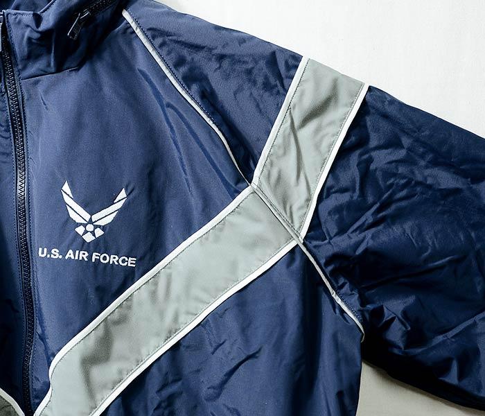 デッドストック/DEADSTOCK アメリカ製 U.S.AIR FORCE PTU ナイロンジャケット アメリカ軍 USAF ウィンドブレーカー (USAF-PTU-NYLON-JACKET)