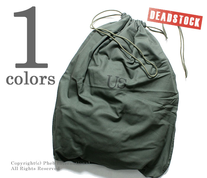 デッドストック/DEADSTOCK アメリカ軍 米軍 ランドリーバッグ LAUNDRY BAG アメリカ製 (US-LAUNDRY-BAG)