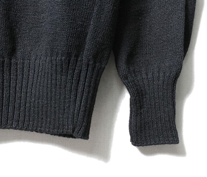デッドストック DEADSTOCK ゴブセーター ニット US NAVY ウール モックネック GOB SWEATER (1980-USN-GOB-SWEATER)