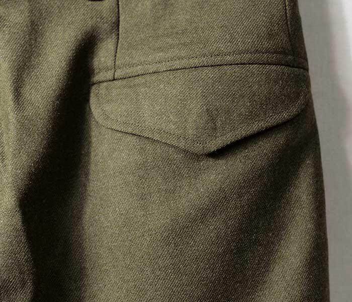 デッドストック/DEADSTOCK オーストラリア軍 60年代製 バトルドレストラウザーズ ウールパンツ AUSTRALIAN BATTLE DRESS TROUSERS (AUS-BATTLE-DRESS-TROUSERS)