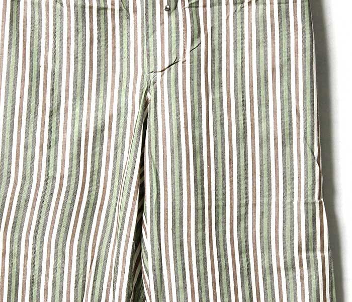 デッドストック DEADSTOCK ブルガリア軍 A柄〜F柄 スリーピングパンツ イージーパンツ アソートストライプ (BULGARIA-SLEEPING-PT-ASST)