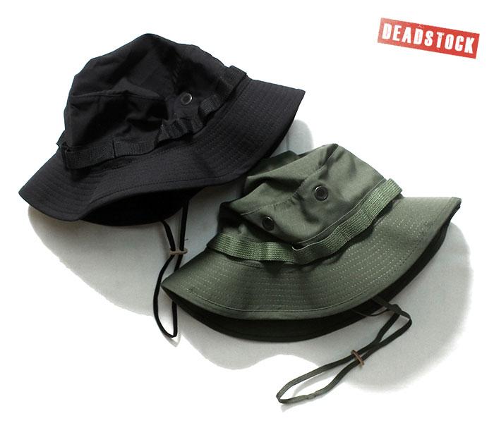 デッドストック DEADSTOCK アメリカ製 ブッシュハット ブーニーハット 2000年代製 ミリタリー (MIL-BOONIE-HAT)
