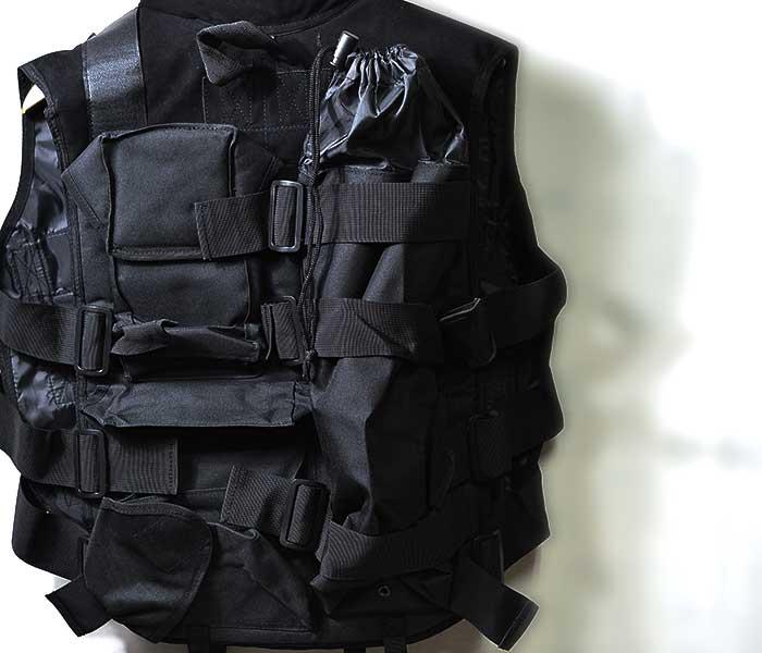 デッドストック DEADSTOCK タクティカル ベスト GOW社製 TACTICAL VEST ブラック 米軍 U.S.ARMY (GOW-TACTICAL-VEST-BLK)
